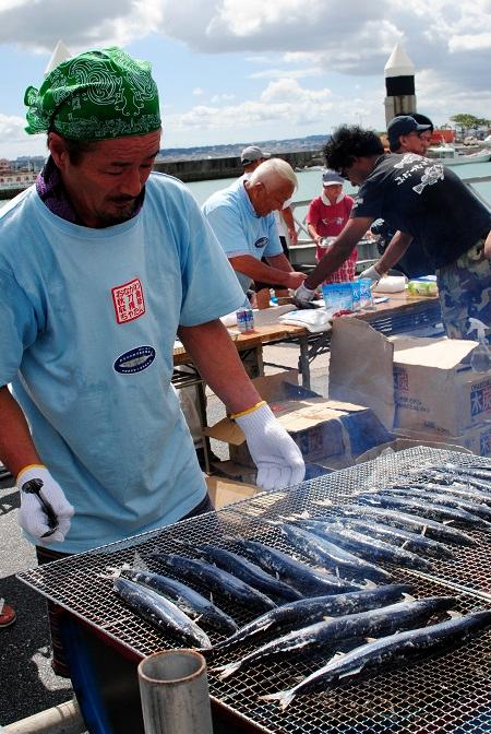秋刀魚収穫祭13