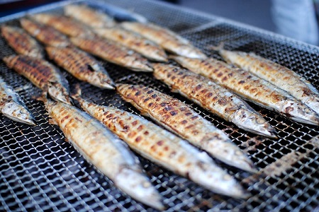 秋刀魚収穫祭4