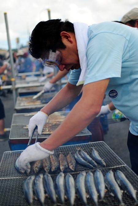 秋刀魚収穫祭7