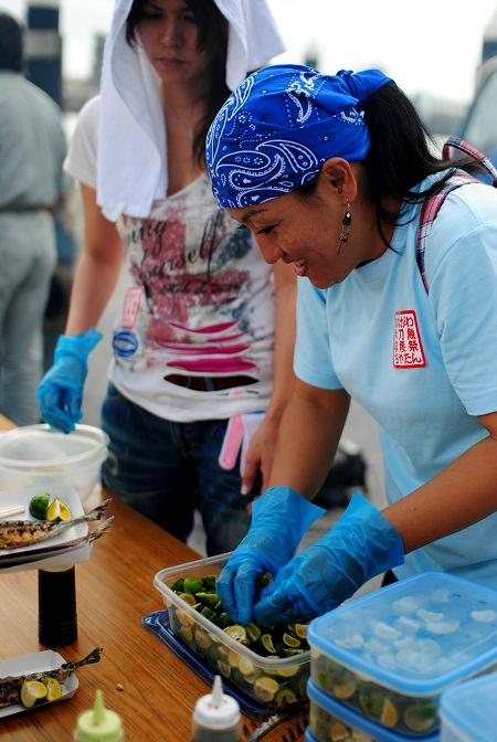 秋刀魚収穫祭9