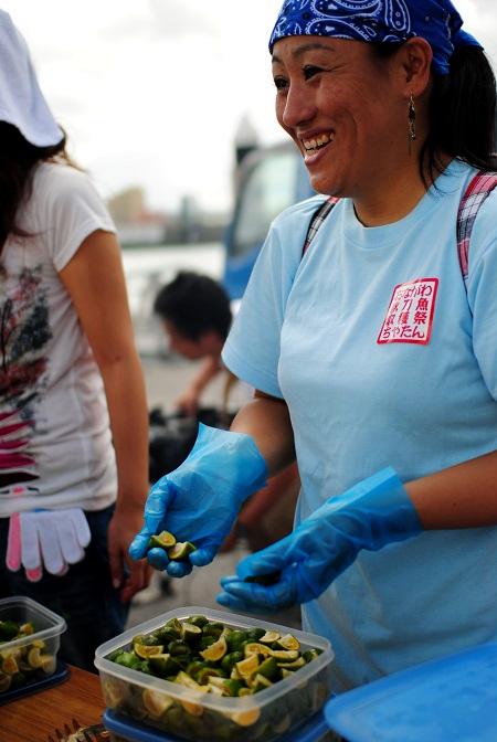 秋刀魚収穫祭10