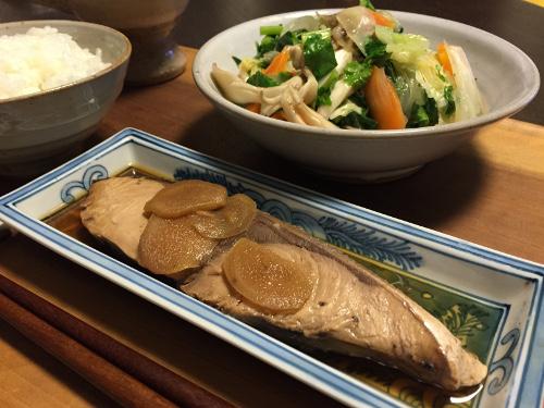 Dec15_わらさの生姜煮