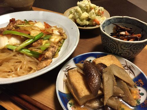 Dec17_根菜と厚揚げ煮