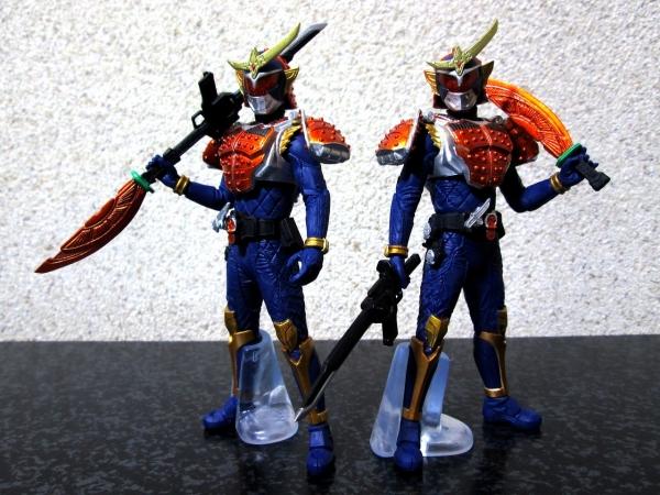 仮面ライダー鎧武 オレンジアームズ(ナギナタモード 装備) (二刀流 装備)