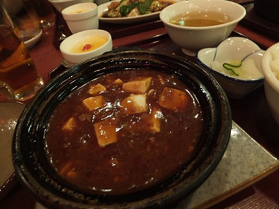 杏仁坊の麻婆豆腐