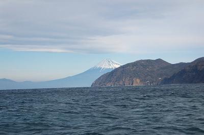 土肥から富士山