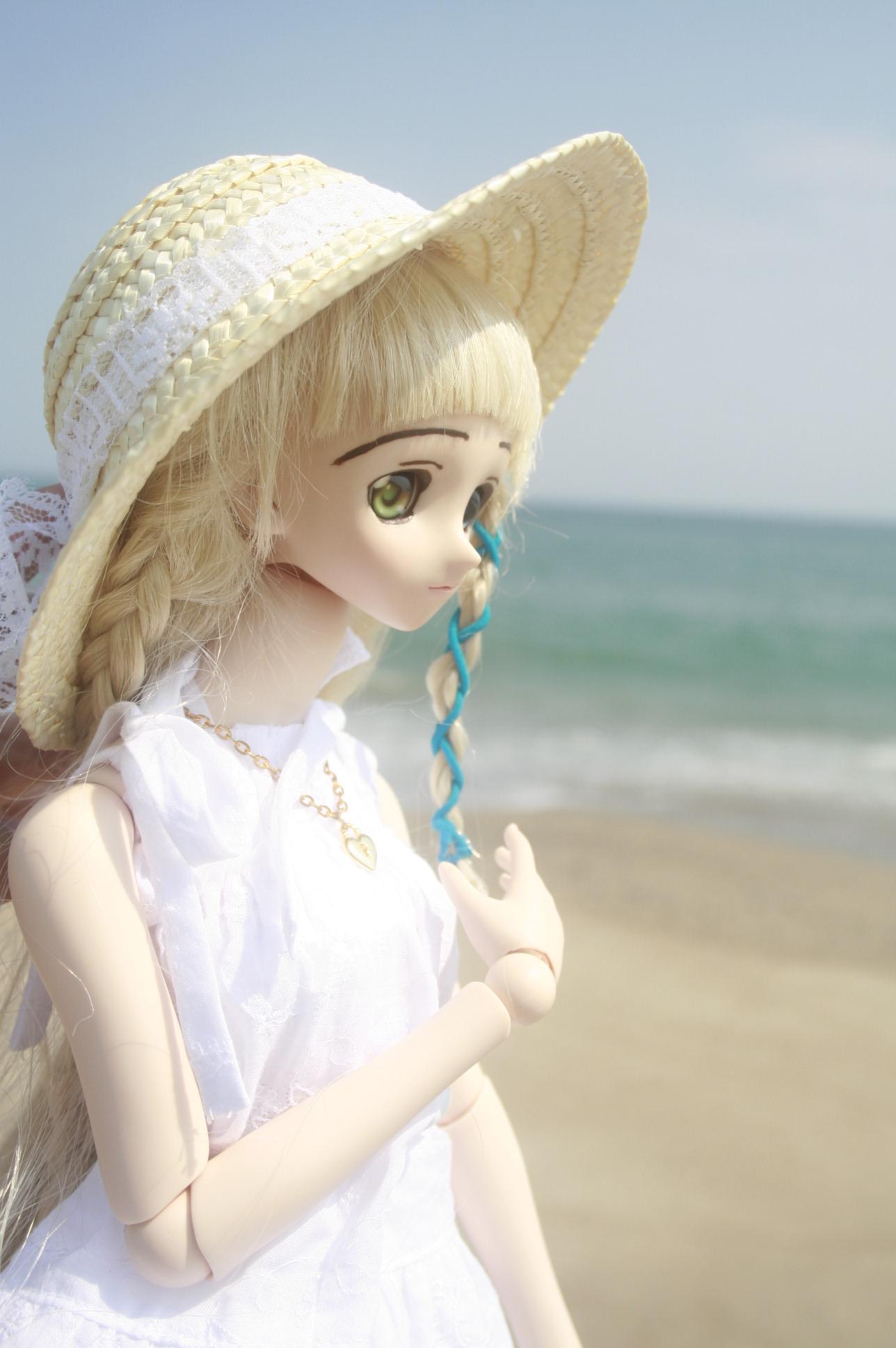海の浜 側面