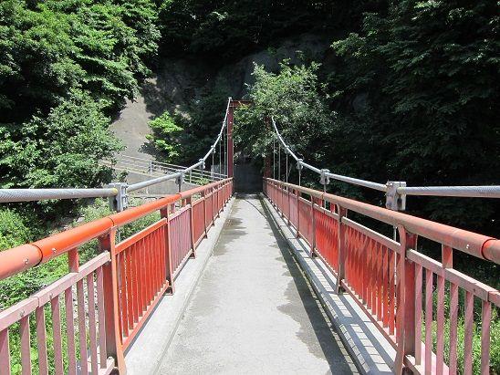 是川 母袋子橋