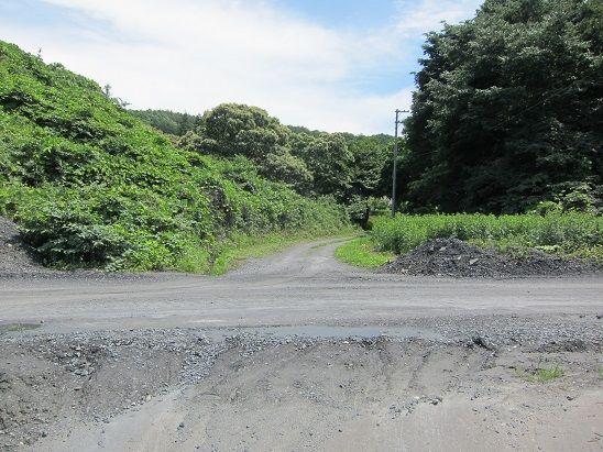東母袋子への道3