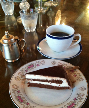 ルクードヴァン:チョコケーキ