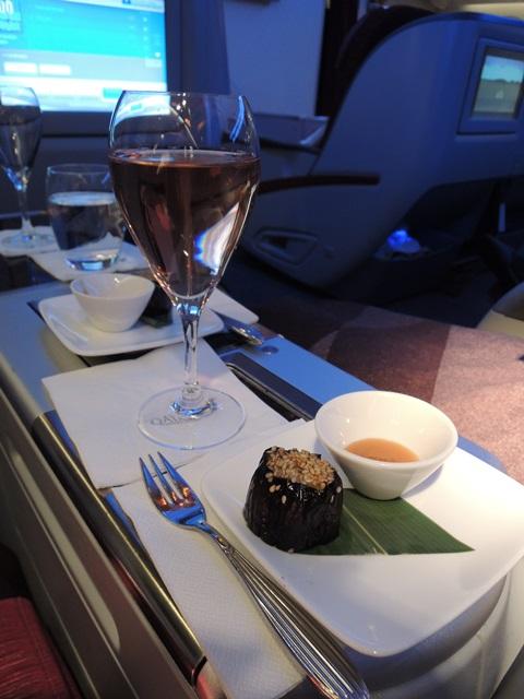 機内食ディナー1