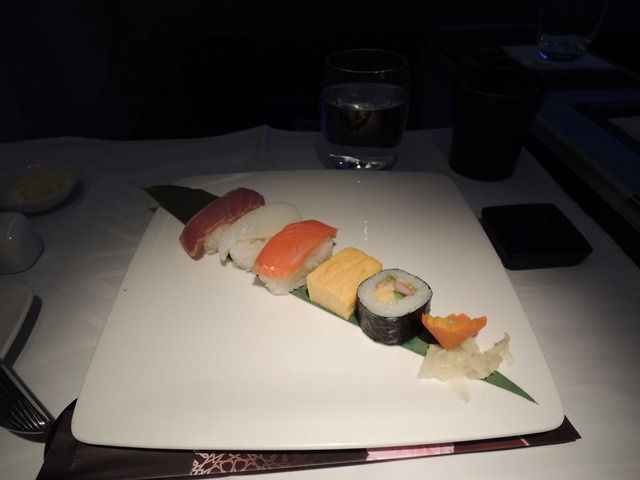 機内食ディナー3
