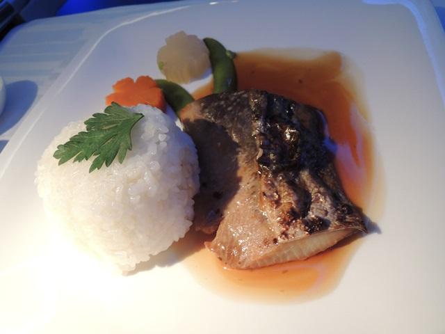 機内食ディナー6