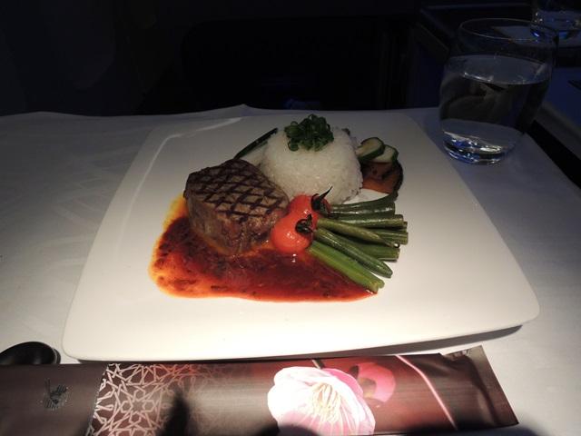 機内食ディナー8