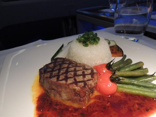 機内食ディナー9