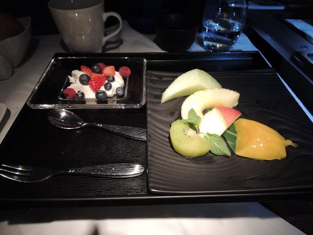 機内食朝食6