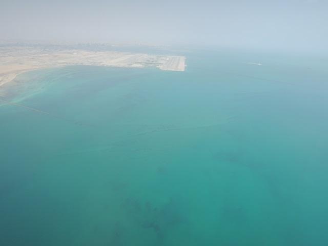 カタールの海