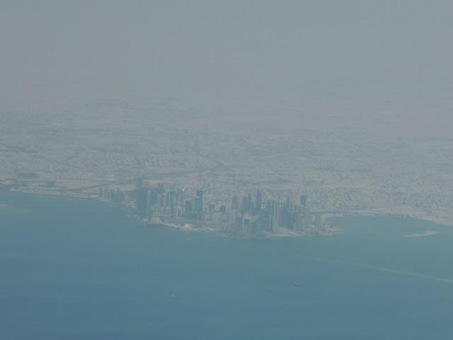 カタールの高層ビル群