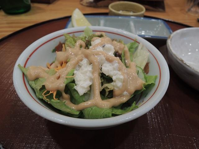 ふく西 サラダ