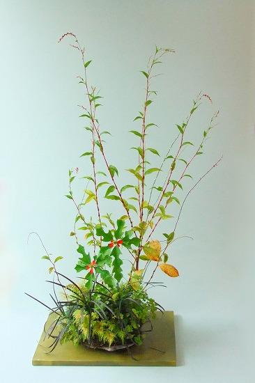 秋の寄せ植え(ボントクタデ)