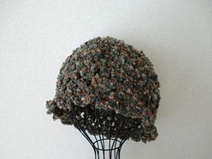 もこもこ帽子