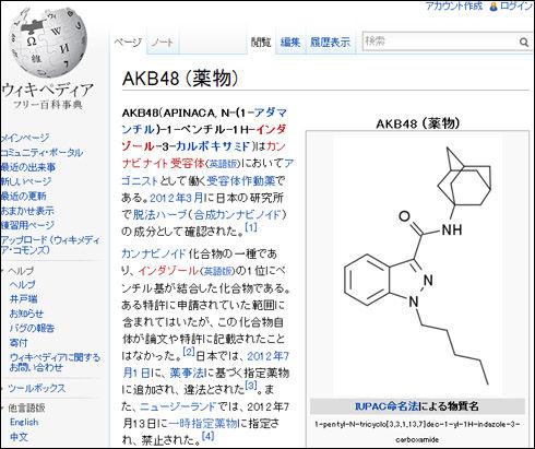 AKB48(APINACA)