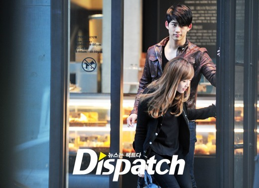 2PM・テギョンとの熱愛