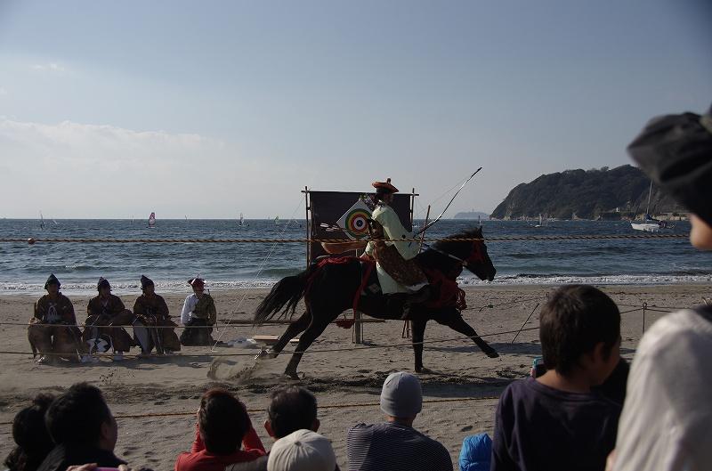 海の流鏑馬