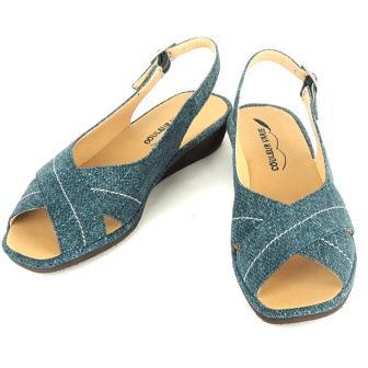 靴 デニム