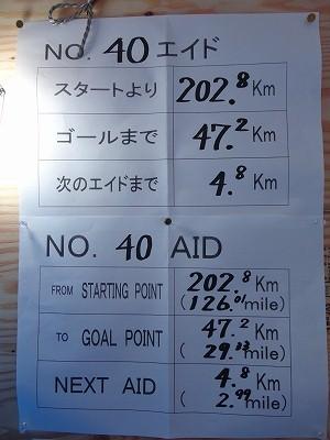 五箇山エイド