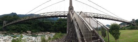 橋の真ん中!