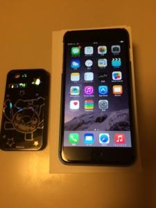 アイフォン6+購入