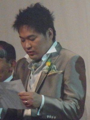 結婚式最後のあいさつ