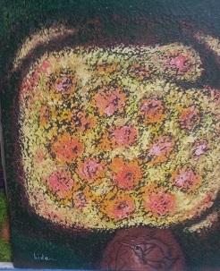 19700429_114345.魚紋花瓶と花