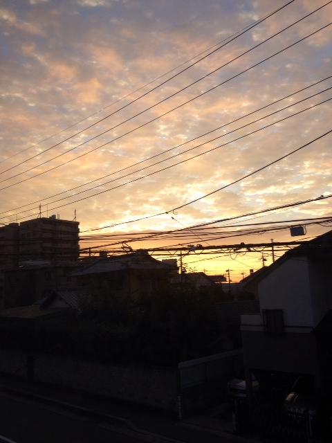2013 朝焼け