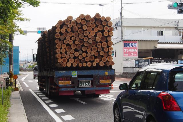 ④-12材木運搬