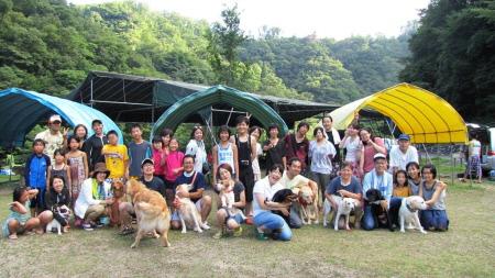 雉ヶ原キャンプ場(1)