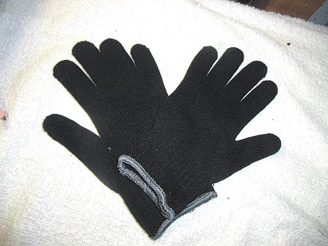 買ってきた手袋