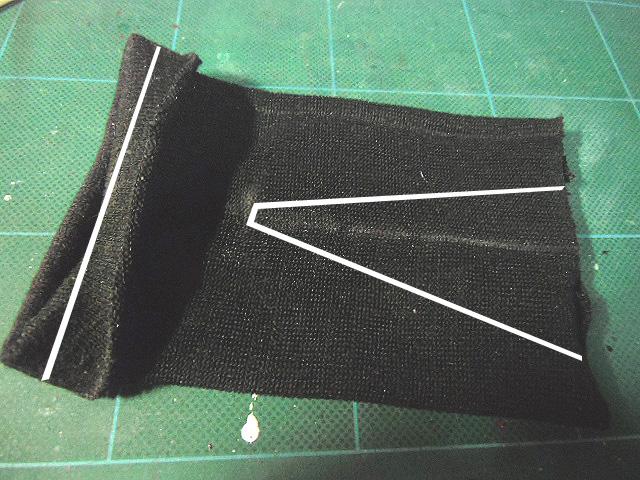 ズボンの設計