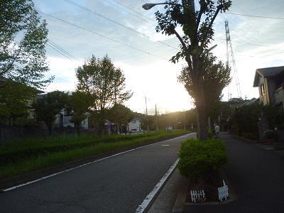 夕暮れ風景 001