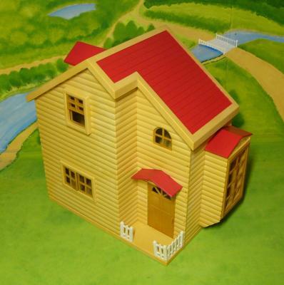 赤い屋根のお家 10