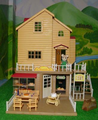 森のパン屋さん赤い屋根のお家