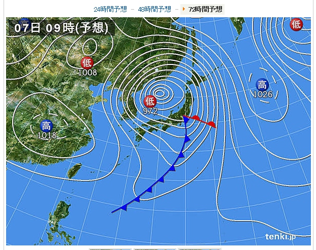 2013.4.7予想天気図 (622x493)