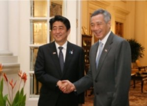 日本・シンガポール首脳会談