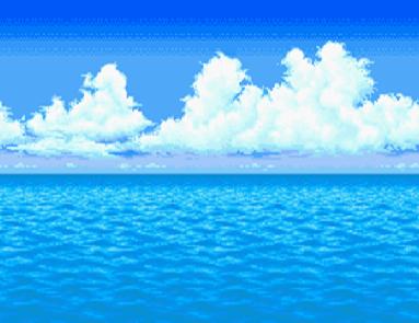 海のバトルフィールド