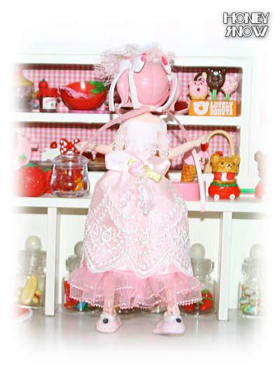 1/12DOLL 【ウエディングドレス】 武装神姫、figma、リボルテック、ピコニーモ