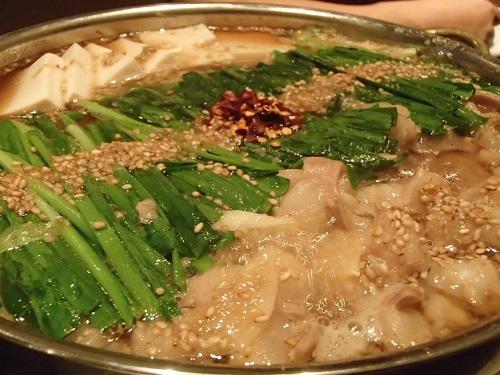 モツ鍋 (10)