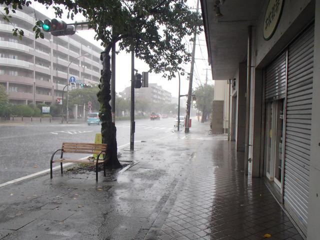 台風出勤2