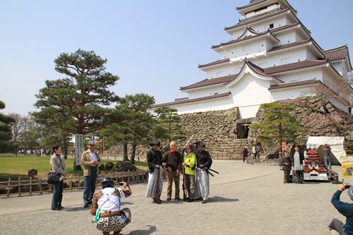 鶴ヶ城 桜 4 17 24