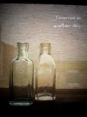 レトロな小瓶~君が代~ 全体